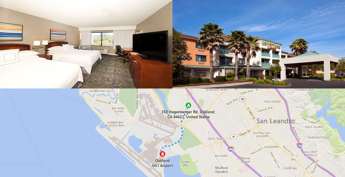Hotels Near OAK Airport & BART | Hotels Near San Francisco BART Stations
